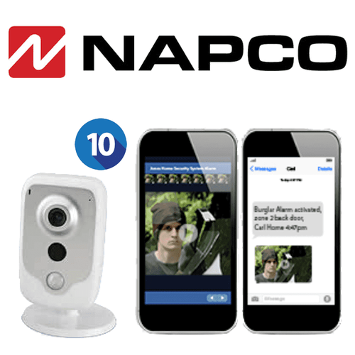Napco Residential Home Video Surveillance Services (Up to 10 Cameras)