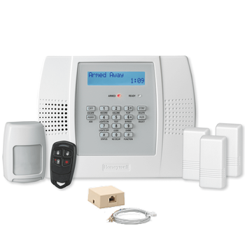 Honeywell Home LYNX Plus L3000 Phone/VoIP Wireless Security System Kit