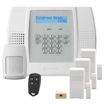 Honeywell Home LYNX Plus L3000 Phone/VoIP-Line Wireless Security System Kit