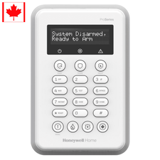 PROSIXLCDKCN - Resideo Honeywell Home Wireless Touchpad Alarm Keypad (for ProSeries Control Panel Canada PROA7PLUSCN)