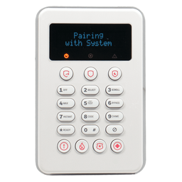 PROSiXLCDKP - Resideo Honeywell Home Wireless Touchpad Alarm Keypad (for ProSeries Control Panels)