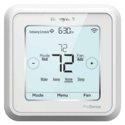 QC-TH6320WF2 - Honeywell Lyric T6 Pro Trade Smart Thermostat (Up to 2 Heat/2 Cool Conventional)
