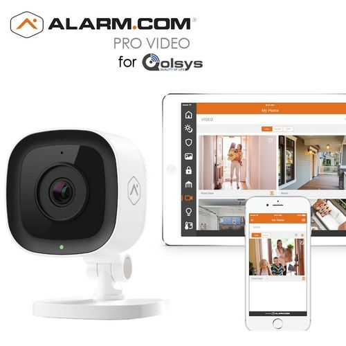Qolsys Residential Home Video Surveillance Services (Powered by Alarm.com)