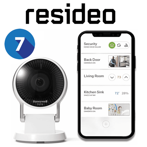 Resideo Residential Home Video Surveillance Services with 7-Days Storage (Powered by AlarmNet)
