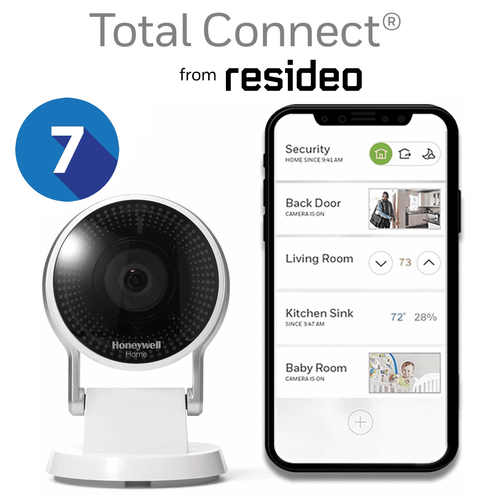 Total Connect Residential Home Video Surveillance Services with 7-Days Storage (Powered by AlarmNet)