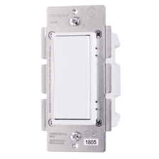 Z53WSWITCH - Resideo Honeywell Home In-Wall Auxiliary Switch (for 3-Way Use)