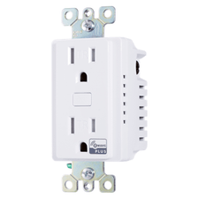Z5OUTLET - Resideo Honeywell Home 15A Duplex Receptacle In-Wall Z-Wave Plus Outlet