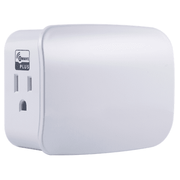 Z5SWPID - Resideo Honeywell Home 15A Plug-In Z-Wave Plus Switch/Dual-Outlet