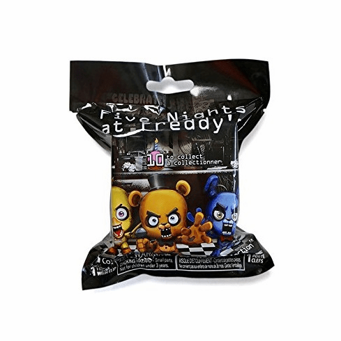 5 Nights at Freddy's - Clip on Figure - Mystery Pack - Style 1