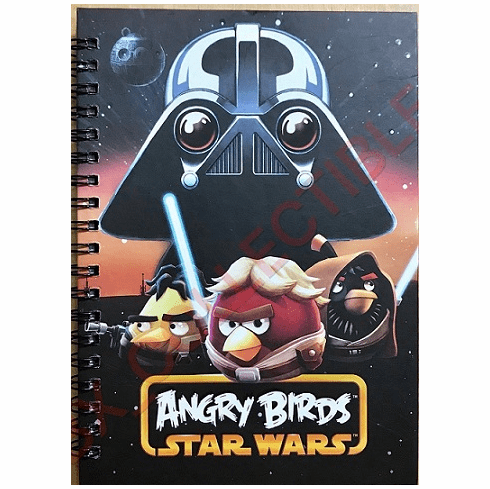 Angry Birds Star Wars Kids Mini Notebook