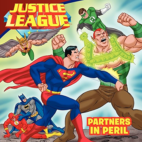Book - Justive League Partners in Peril