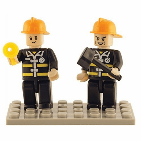 Bric Tek - Fire Fighter Mini Figures