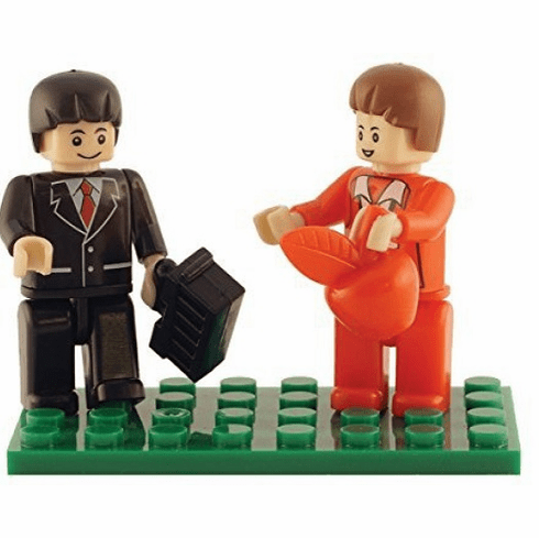 Bric Tek - Teacher and Student Mini Figures