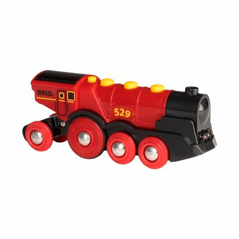 BRIO Railway - Mighty Red Action Locomotive