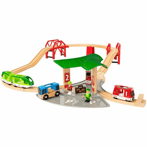 BRIO Railway - Travel Station Set