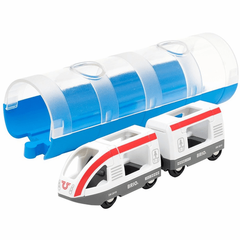 BRIO Railway - Travel Train and Tunnel