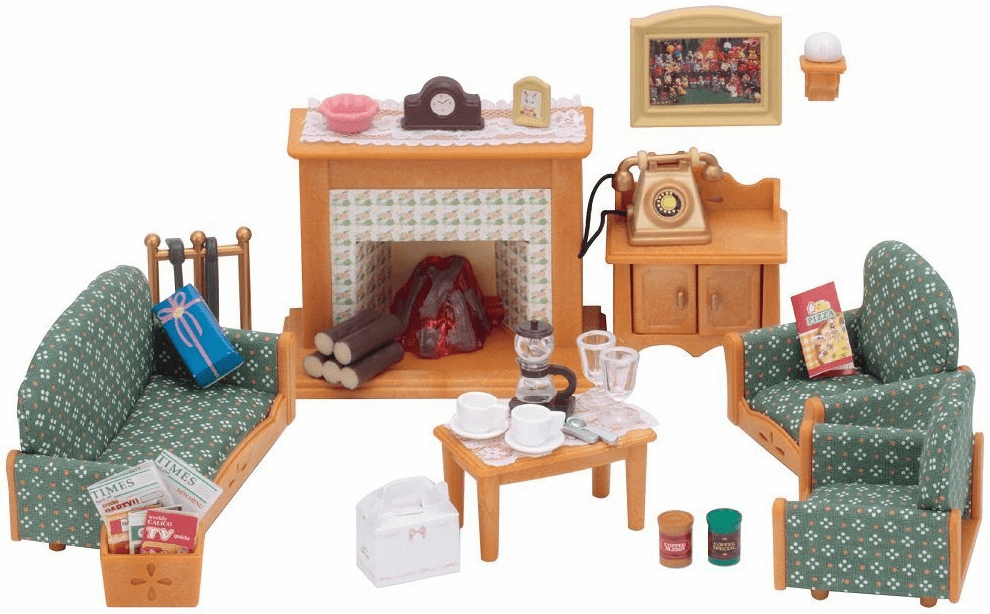 Calico Critters - Deluxe Living Room Set