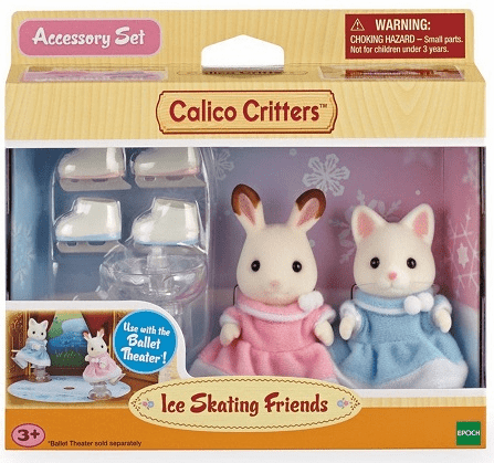 Calico Critters - Ice Skating Friends