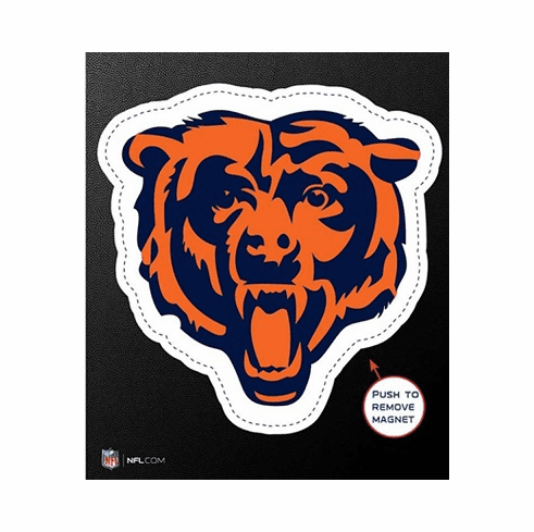 Chicago Bears Die Cut Magnet - Team Color