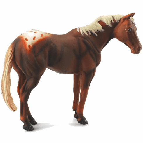 CollectA - Appaloosa Stallion - Chestnut