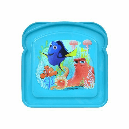 Disney Finding Dory Bread Shaped Sandwich Container