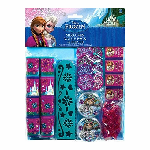 Disney Frozen Birthday Favour Toys and Prize Giveaway (48 Piece)