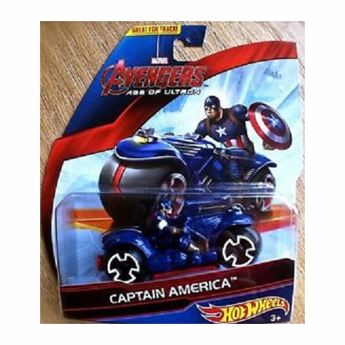 Hot Wheels Avengers Motor - Age of Ultron Captain America