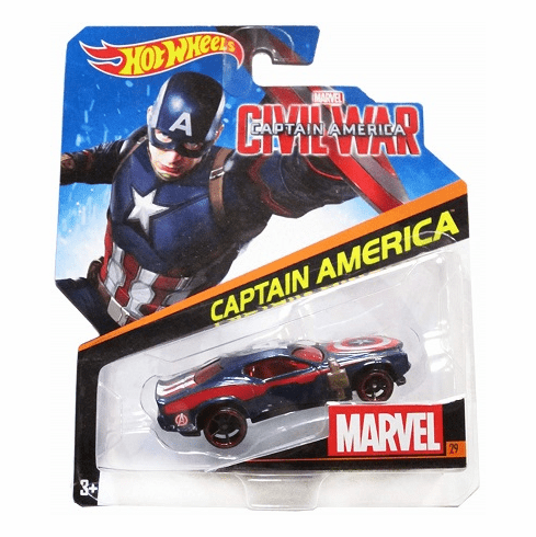 Hot Wheels - Captain America Car
