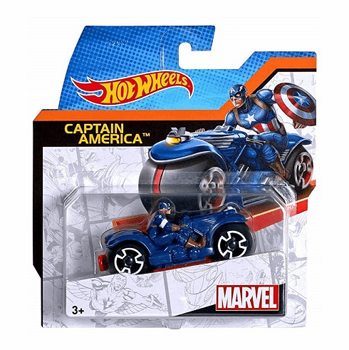 Hot Wheels - Captain America Cycle