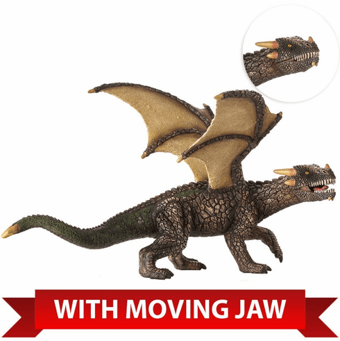 Mojo - Fantasy - Earth Dragon with Articulated Jaw