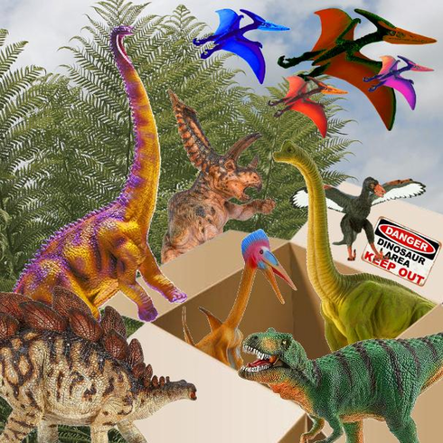 Monthly Subscription Box Dinosaur - Only $24.99 / month