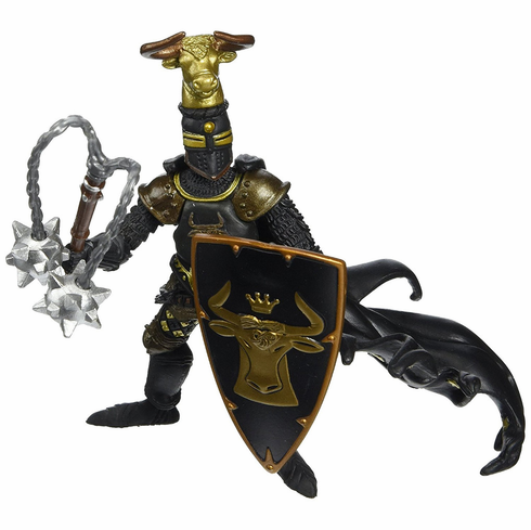 Papo - Bull Knight - Black and Gold