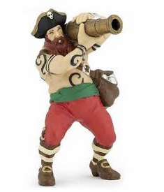 Papo - Cannon Pirate