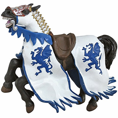 Papo - Dragon King's Horse - Blue