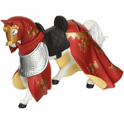 Papo - Draped Horse - Red