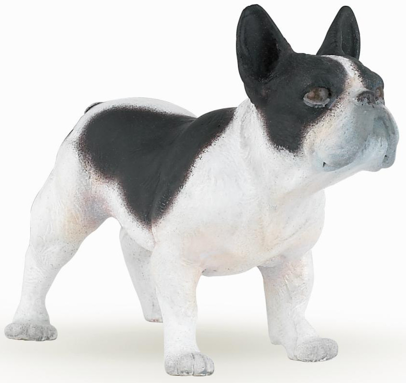 Papo - French Bulldog - Black & White