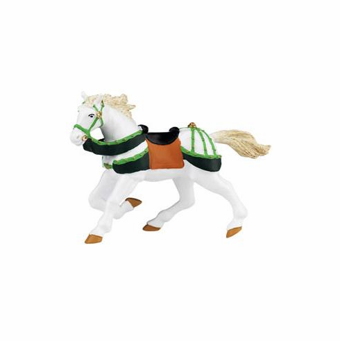Papo - Green and White Horse