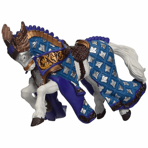 Papo - Horse of Eagle Knight - Silver