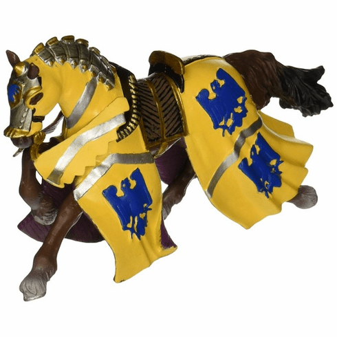 Papo - Horse of Godefroy at Tournament - Blue