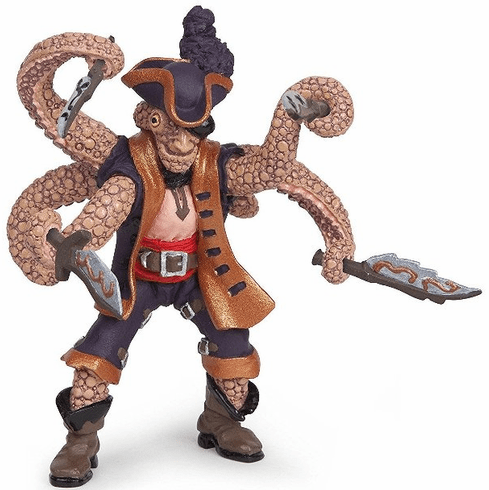 Papo - Octopus Mutant Pirate