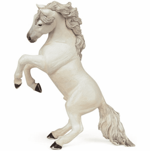 Papo - Reared-Up Horse - White