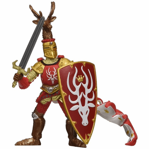 Papo - Stag Knight - Red