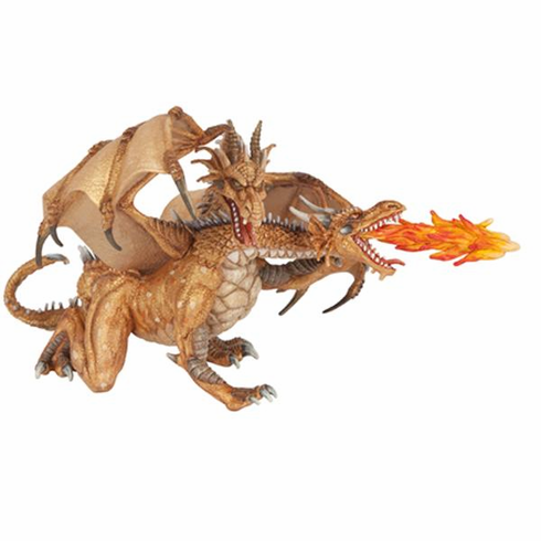 Papo - Two Headed Dragon - GOLD