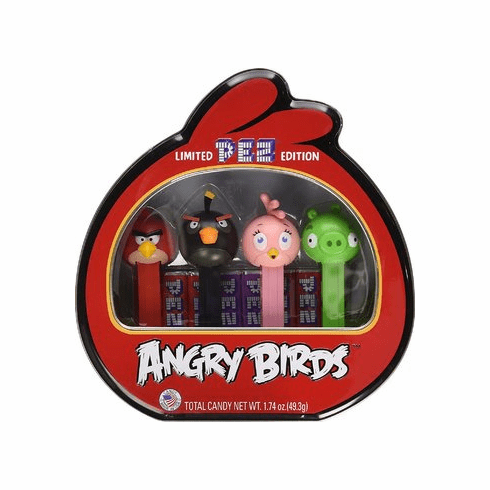 Pez Angry Birds Collectors Tin