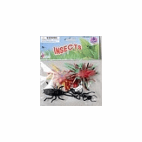Plastic Insects (Colors and Styles May Vary)