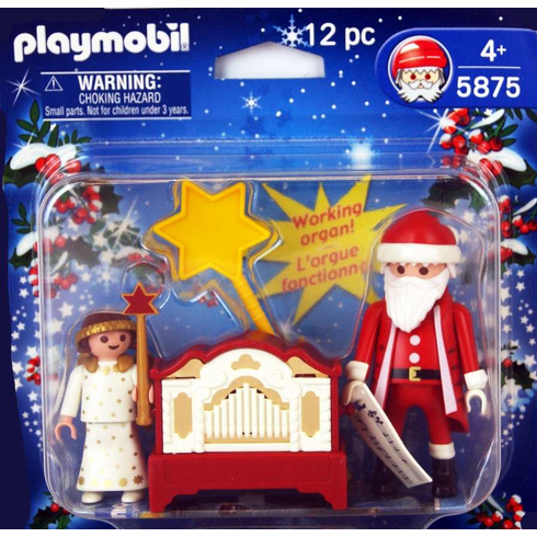 Playmobil 5875 Santa, Angel & Organ - Damaged box