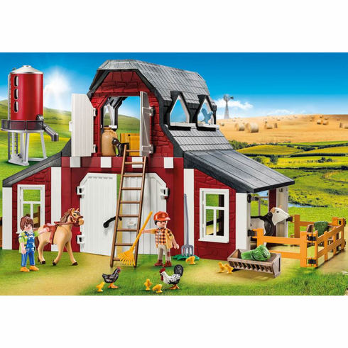 Playmobil - Barn with Silo