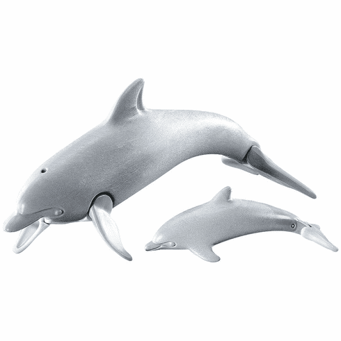Playmobil - Dolphin with Baby