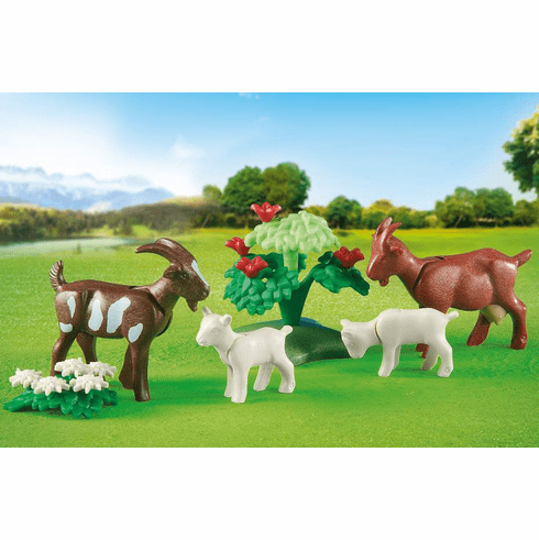 Playmobil - Goats with Kids