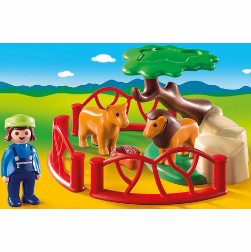 Playmobil - Lion Enclosure